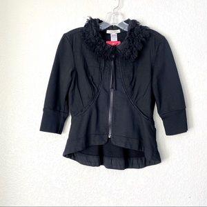 PRAIRIE UNDERGOUND Jersey Knit Black Jacket NWT XS